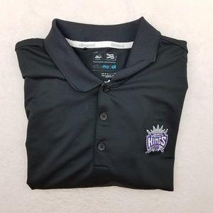 Sacramento Kings Adidas Golf Polo Shirt Large